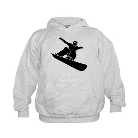 Go Snowboarding! Kids Hoodie