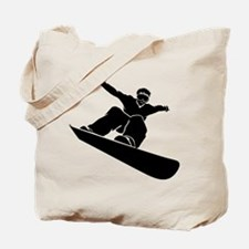 Go Snowboarding! Tote Bag