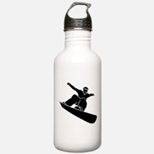 Go Snowboarding! Water Bottle