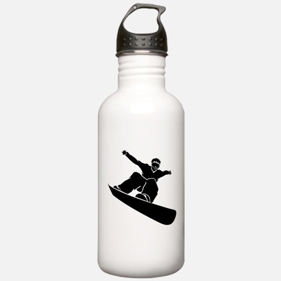 Go Snowboarding! Water Bottle