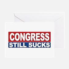 Congress Still Sucks Greeting Card