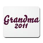 Grandma 2011 Mousepad
