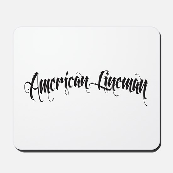 Lineman Mousepad