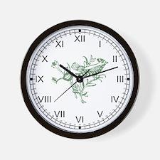 Sage Bird Wall Clock