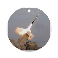 Multiple Launch Rocket System Ornament (Round)