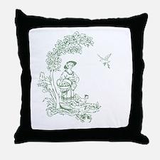 Sage Maiden Throw Pillow