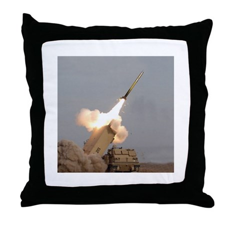 Multiple Launch Rocket System Throw Pillow
