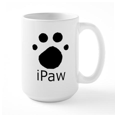 iPaw Large Mug