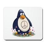 Peace Penguin Mousepad