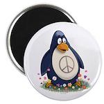 Peace Penguin Magnet