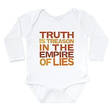 Truth is Treason Long Sleeve Infant Bodysuit