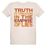 Truth is Treason Organic Kids T-Shirt