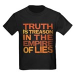 Truth is Treason Kids Dark T-Shirt