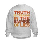 Truth is Treason Kids Sweatshirt