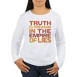 Truth is Treason Women's Long Sleeve T-Shirt