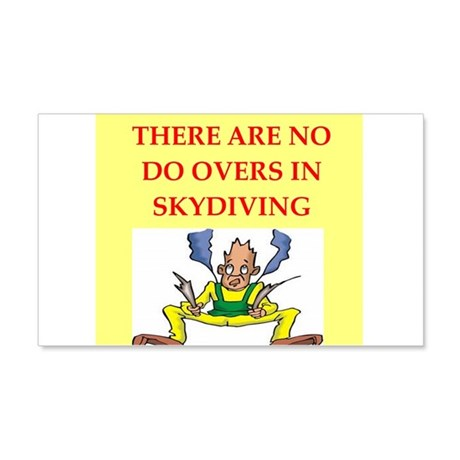 skydiving 22x14 Wall Peel