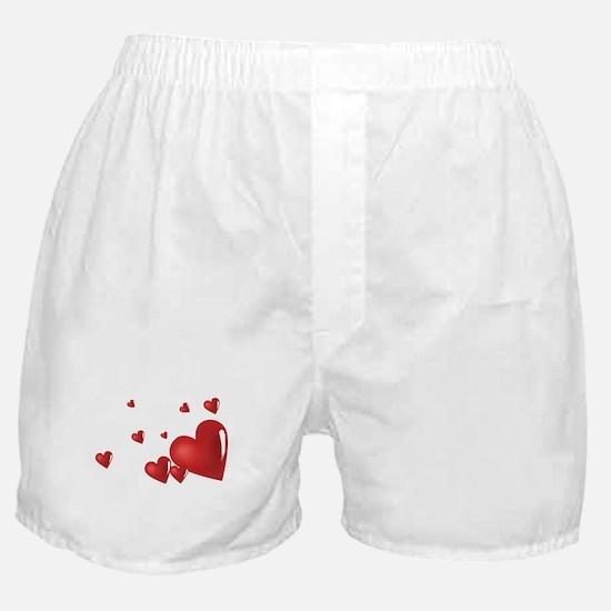 Hearts Boxer Shorts