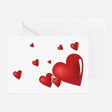 Hearts Greeting Cards (Pk of 10)