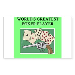 poker gifts t-shirts Decal