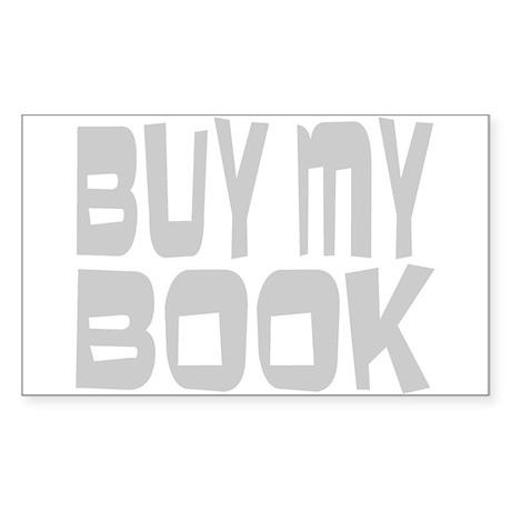 Buy My Book Sticker (Rectangle 50 pk)