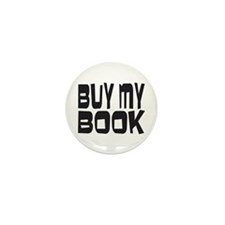 Buy My Book Mini Button (100 pack)