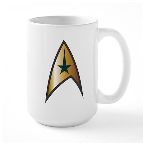 Star Trek Insignia Large Mug