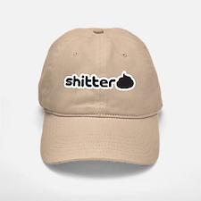 Shitter (by Deleriyes) Baseball Baseball Cap