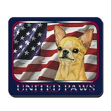 Chihuahua United Paws Mousepad