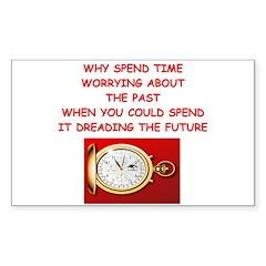 new age psychology joke Sticker (Rectangle 50 pk)
