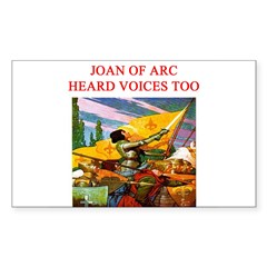 voices in my head gifts ppare Decal