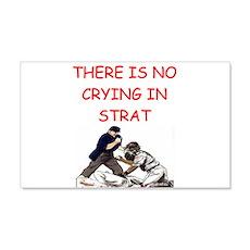 strat-o-matic baseball joke 22x14 Wall Peel