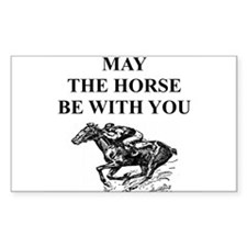thoroughbred horse racing Decal