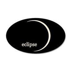 Eclipse Sticker 22x14 Oval Wall Peel