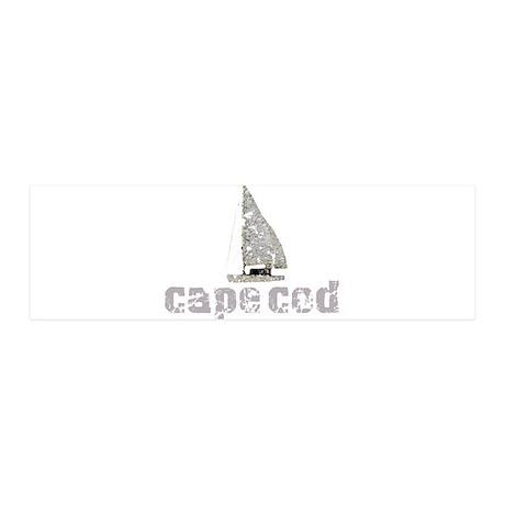 Cape Cod Sailboat 42x14 Wall Peel