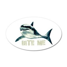 Bite Me Shark Wall Decal