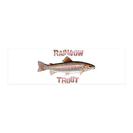 Rainbow Trout 21x7 Wall Peel