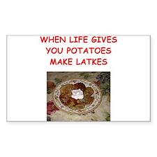 potato pancakes Decal