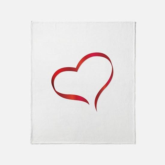 Heart Throw Blanket
