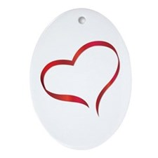 Heart Ornament (Oval)