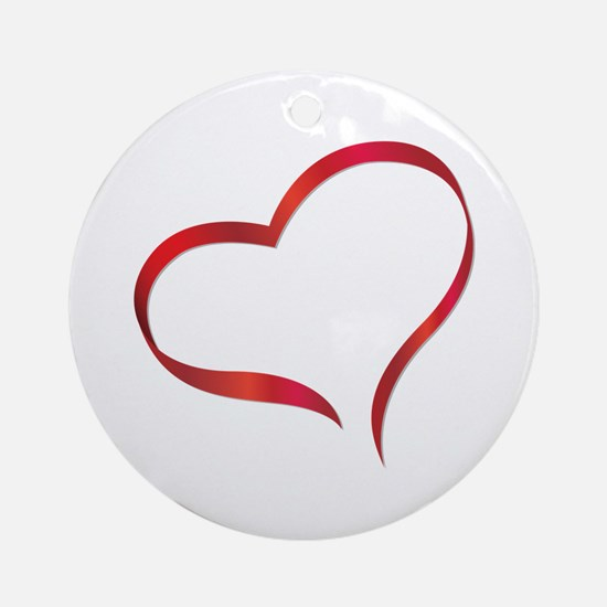Heart Ornament (Round)
