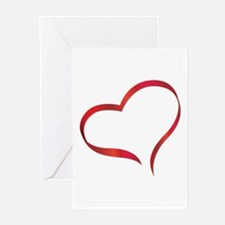Heart Greeting Cards (Pk of 10)