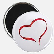 """Heart 2.25"""" Magnet (10 pack)"""
