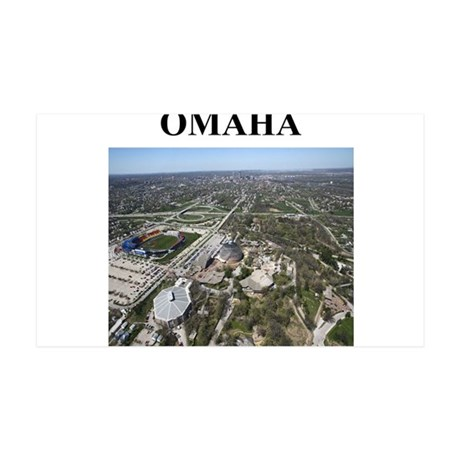 omaha gifts and t-shirts 38.5 x 24.5 Wall Peel