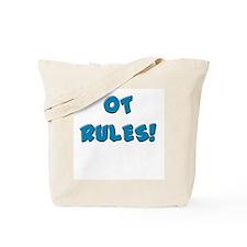 OT RULES! (BLUE & PINK) Tote Bag