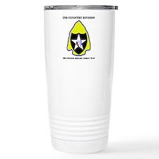DUI - 3rd Stryker BCT with Text Travel Mug