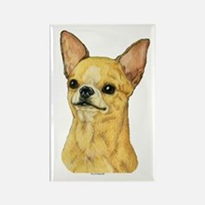 Smooth Coat Chihuahua Rectangle Magnet