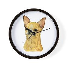 Smooth Coat Chihuahua Wall Clock