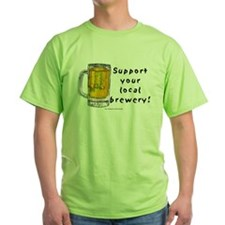 Support Local Brewery (Beer) T-Shirt