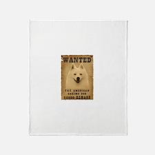"""Wanted"" American Eskimo Dog Stadium Bl"