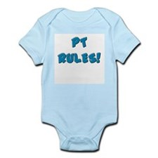 PT RULES! (Pink & Blue) Infant Creeper